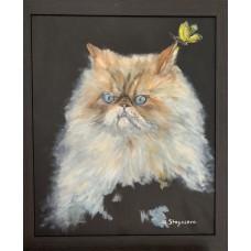 """Картина маcлом """" Остин"""" , живопись , купить картину онлайн , картины от художника"""