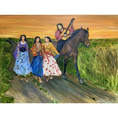 Купить картину маслом у художника - оригинальная живопись