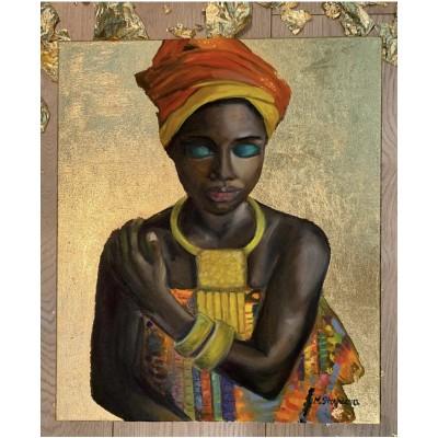 Картина Маслом « Золоая Таонга»