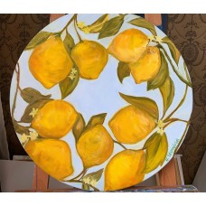 """Оригинальная Картина на холсте маслом  """" Лимончики"""""""