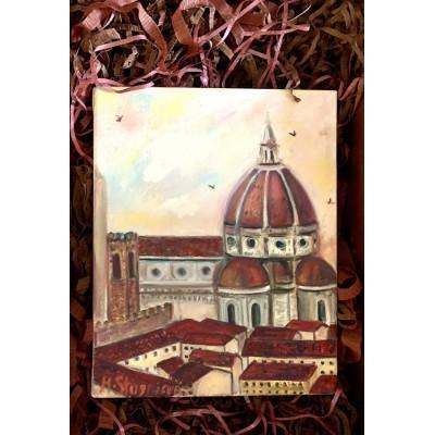Городской пейзаж - Флоренция - купить картину онлайн