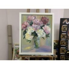 Оригинальная Картина маслом «Аромат»  на холсте Размер : 40*50 см