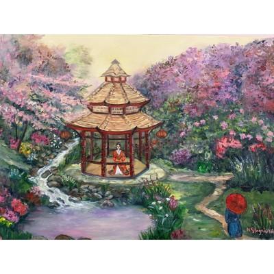купить картину маслом онлайн - живопись , пейзажи , цветы, импрессионизм