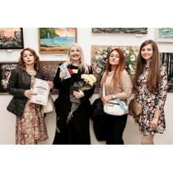 Осенний вернисаж 2020 в Доме Художника, Киев . Стогниева Марина представила две свих живописных работы.