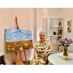 Занятия живописью маслом с художницей Стогниевой Мариной