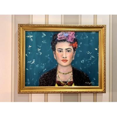 Купить картину маслом с изображением Фриды Кало