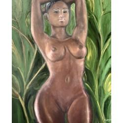 Серия картин африканской тематики, художница : Стогниева Марина (ФОТО)