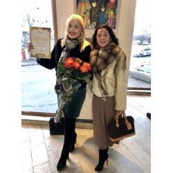 Стогниева Марина представила свои работы на  Зимней выставке 2020 в Верховной Раде Украины и в Доме Художника