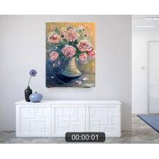 """Картина Маслом """"Розы"""""""