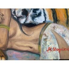 Картина Маслом «Укротительница»