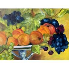 Оригинальная Картина Маслом «Чаша изобилия» на холсте 50*60 см