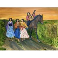 Открытие выставки современных художников , в арт галерее « Митець» . Стогниева Марина представила три своих работы. Подробности и видео в статье.